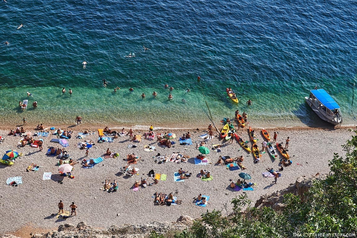 Пляж «Васили» в Балаклаве (Крым)