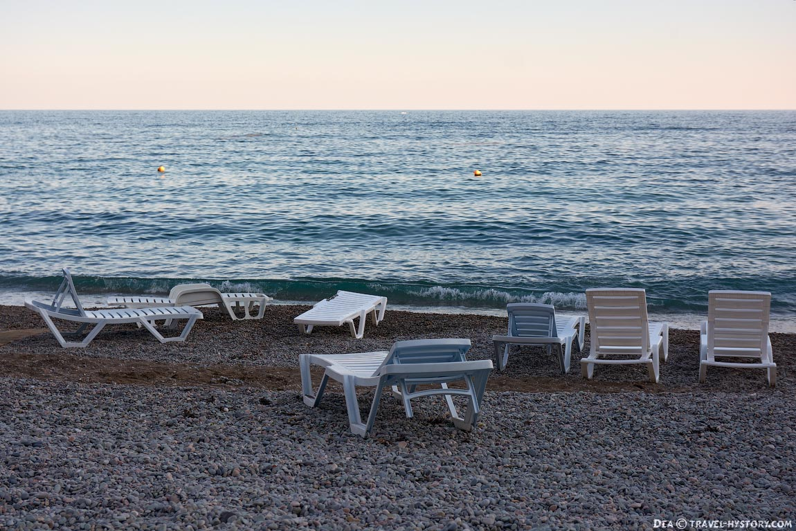 "Пляж санатория ""Дюльбер"""
